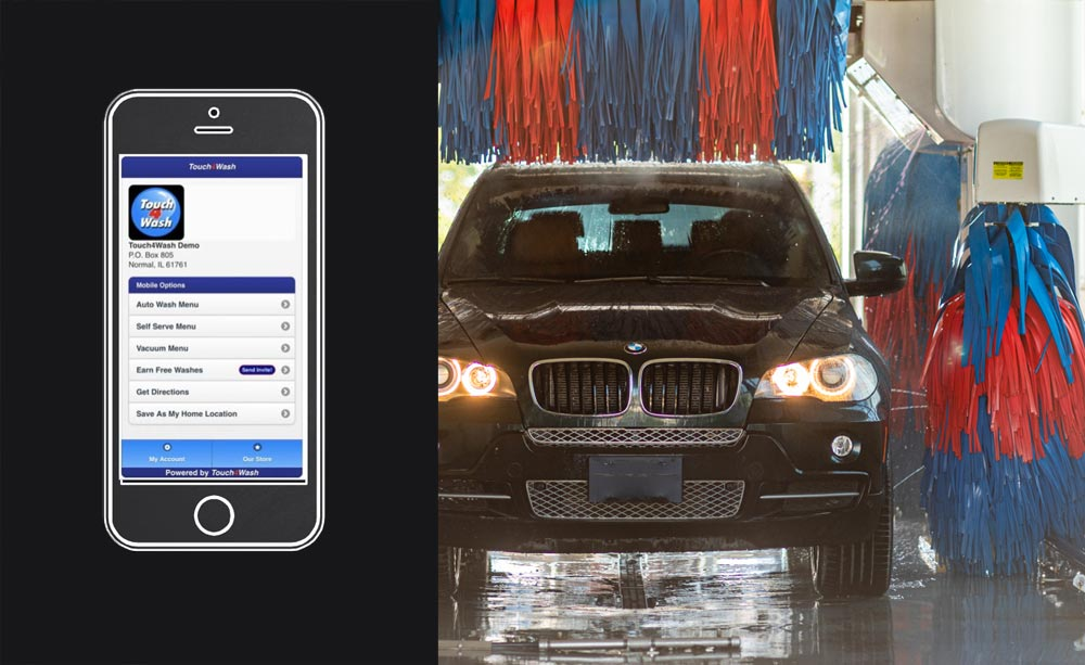 Check Out Our New Touchless Car App Today!!